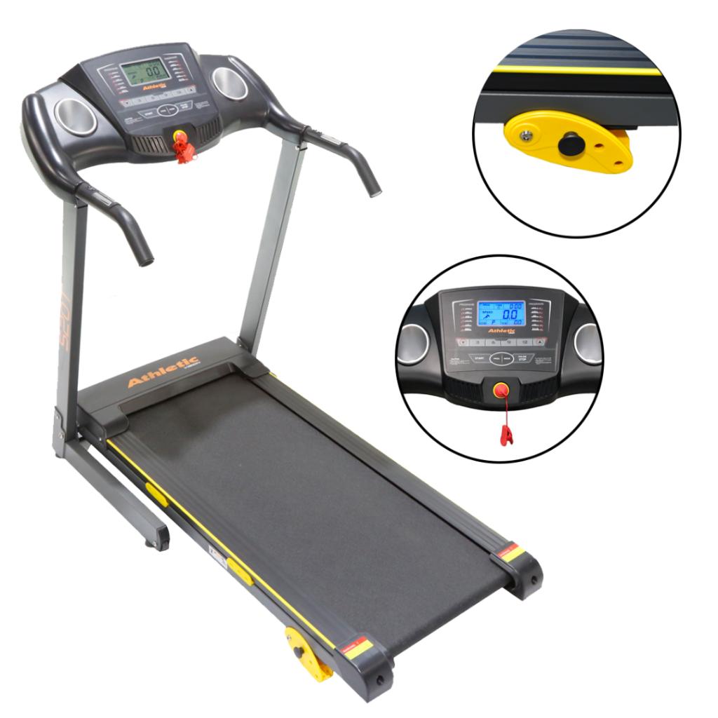 Caminador Eléctrico Plegable Athletic 14km/h Pulsómetro